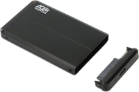 "HDD Box 2.5"" Agestar 3UB2O8 (USB3.0, для SATA HDD)  Black"