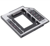 "Адаптер Second HDD Caddy 2.5"" 9mm SATA for slimdvd на SATA hdd (Optical Bay Drive)"