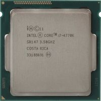 Процессор INTEL Core i7 4770K, LGA 1150, RMA