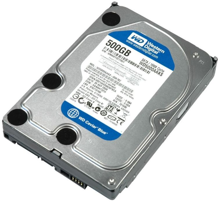 Жесткий диск 500Gb Western Digital WD5000AAKX RMA