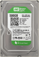 Жесткий диск 500Gb Western Digital, SATA3, 16Mb, WD5000AZRX Caviar Green