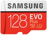 Карта памяти Samsung EVO PLUS [MB-MC128GA/RU]