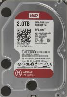 Жесткий диск 3.5  WD Red WD20EFRX,  2Тб,  HDD,  SATA III