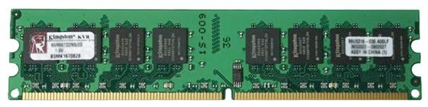 Модуль памяти DIMM DDRII 1024Mb, 667Mhz (Kingston) #KVR667D2N5/1G